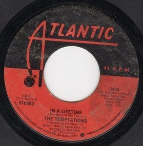 The Temptations - In A Lifetime / I Could Never Stop Loving You