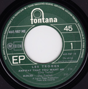 The Troggs - Anyway That You Want Me
