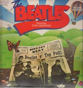 The Beatles - Featuring Tony Sheridan