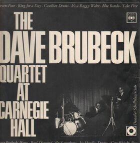 Dave Brubeck Quartet - At Carnegie Hall Part 2