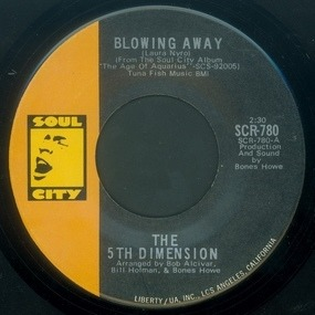 Fifth Dimension - Blowing Away / Skinny Man