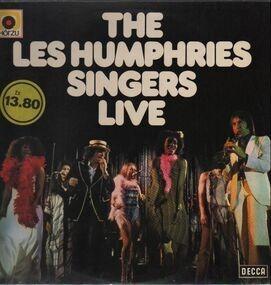 The Les Humphries Singers - Live