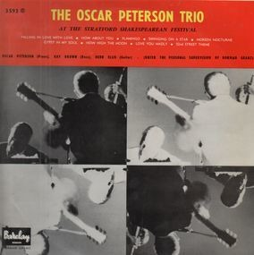 Oscar Peterson Trio - At the Stratford Shakespearean Festival