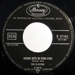 The Platters - Smoke Gets In Your Eyes / No Matter What You Are