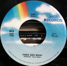 Three Dog Night - One / Try A Little Tenderness
