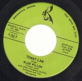 The Monograms - Blue Willow / Teenagers Dream