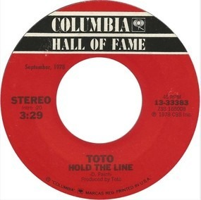 Toto - Hold The Line / I'll Supply The Love