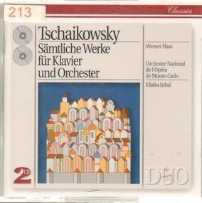 Pyotr Ilyich Tchaikovsky - Sämtliche Werke Für Klavier Und Orchester