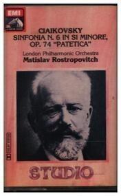 Pyotr Ilyich Tchaikovsky - Sinfonia N. 6 In Si Min, Op. 74 'Patetica'