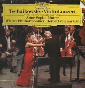 Pyotr Ilyich Tchaikovsky - Violinkonzert, A.S. Mutter, Karajan