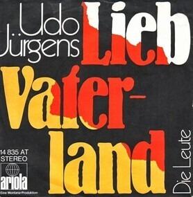 Udo Jürgens - Lieb Vaterland