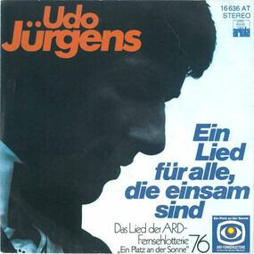 Udo Jürgens - Ein Lied Für Alle, Die Einsam Sind