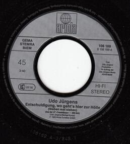Udo Jürgens - Entschuldigung, Wo Geht's Hier Zur Hölle