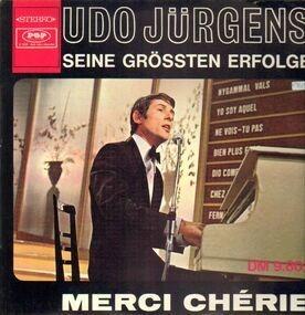 Udo Jürgens - Seine Grössten Erfolge / Merci Chérie