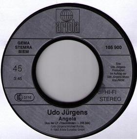 Udo Jürgens - Die Sonne Und Du / Angela