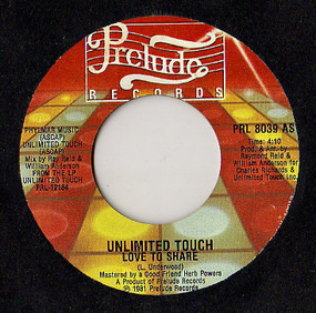 Unlimited Touch - Love To Share / Private Party