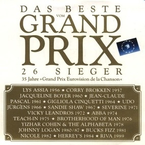 Udo Jürgens - Das Beste Vom Grand Prix 26 Sieger - 35 Jahre >Grand Prix Eurovision De La Chanson <