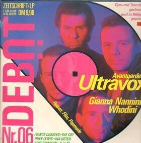 Ultravox - Debüt LP / Zeitschrift Ausgabe 6