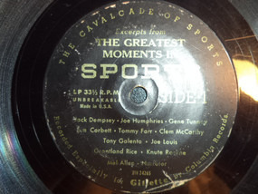 Various Artists - Excerpts From The Greatest Moments In Sports