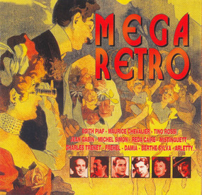 Edith Piaf - Mega Retro