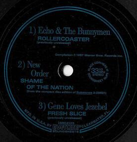 Echo & the Bunnymen - North American Tour 1987