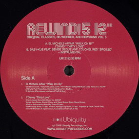 """El Michels Affair - Rewind! 5 12"""""""