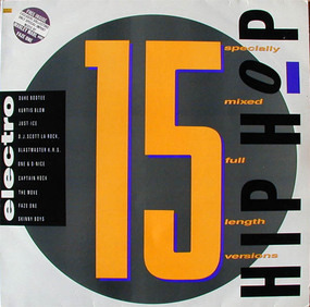 Kurtis Blow - Street Sounds Hip Hop Electro 15