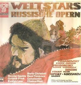 Pyotr Ilyich Tchaikovsky - Weltstars Singen Russische Opern