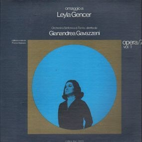 Giuseppe Verdi - Omaggio A Leyla Gencer Opera/75 Vol/1