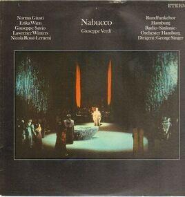 Giuseppe Verdi - Nabucco (Querschnitt, ital.)