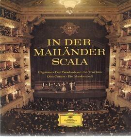 Giuseppe Verdi - In der mailänder Scala