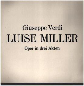 Giuseppe Verdi - Oper in drei Akten