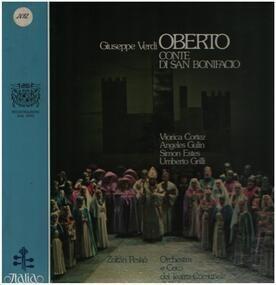 Giuseppe Verdi - Oberto - Conte Di San Bonifacio