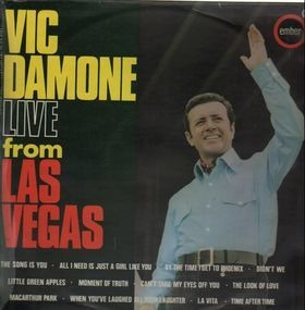 Vic Damone - Live from Las Vegas