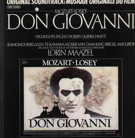 Wolfgang Amadeus Mozart - Don Giovanni; Maazel, Highlights, OST