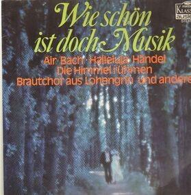 Richard Wagner - wie schön ist doch die musik
