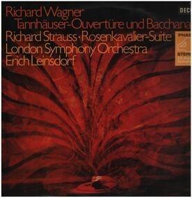 Richard Wagner - Tannhäuser: Ouvertüre und Venusberg-Bacchanale / Rosenkavalier Orchester-Suite (1945)