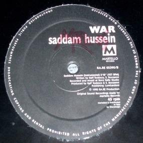 War - Saddam Hussein