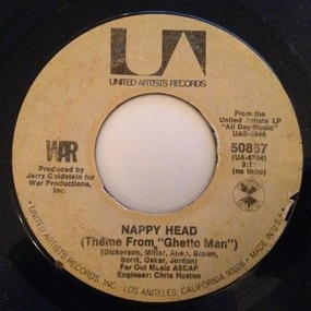 War - Slippin' Into Darkness / Nappy Head (Theme From 'Ghetto Man')
