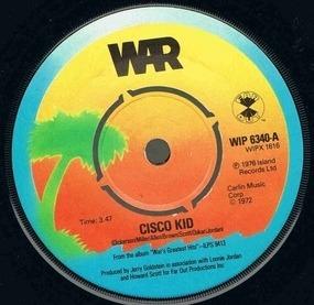 War - The Cisco Kid / Beetles In The Bog