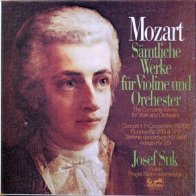 Wolfgang Amadeus Mozart - Sämtliche Werke für Violine und Orchester