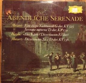 Wolfgang Amadeus Mozart - Abendliche Serenade