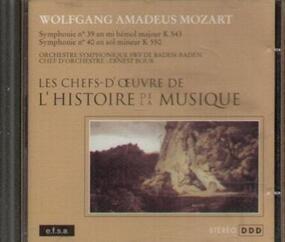 Wolfgang Amadeus Mozart - Symphonie Nr. 39 K543 / Symphonie Nr. 40 K550