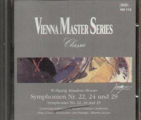 Wolfgang Amadeus Mozart - Symphonien Nr. 22, 24 und 29