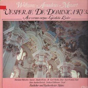 Wolfgang Amadeus Mozart - Vesperae De Dominica KV321