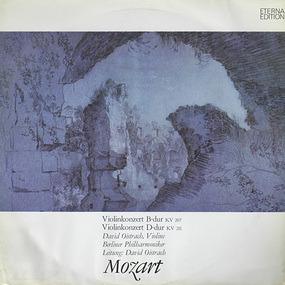 Wolfgang Amadeus Mozart - Violinkonzert B-Dur KV 207 / Violinkonzert D-Dur KV 211