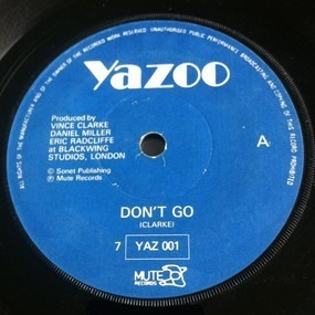 Yazoo - Don't Go