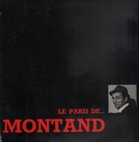 Yves Montand - Le Paris De...