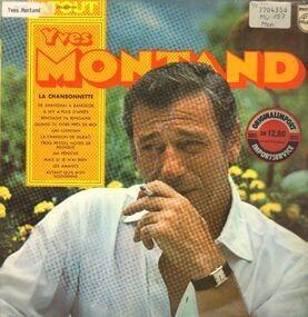 Yves Montand - La Chansonnette