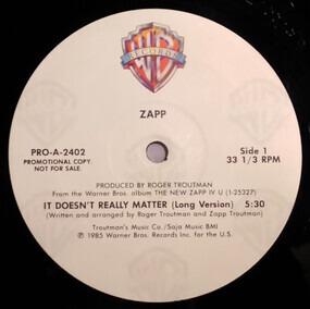 Zapp - It Doesn't Really Matter